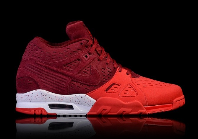 san francisco 3ce16 f438f NIKE AIR TRAINER 3 LEATHER TEAM RED