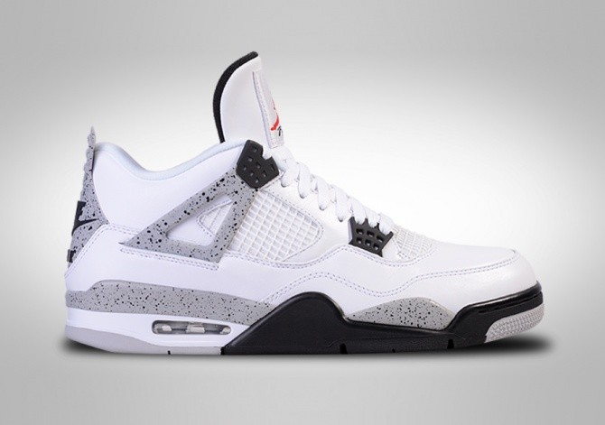 NIKE AIR JORDAN 4 RETRO OG 'WHITE CEMENT'