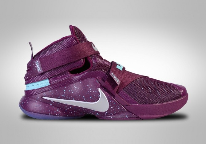 NIKE LEBRON SOLDIER IX FLYEASE LIMITED EDITION 'PURPLE SPACE'