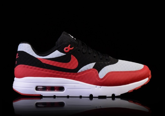 new styles 876c5 54f69 NIKE AIR MAX 1 ULTRA ESSENTIAL GYM RED-BLACK-WHITE
