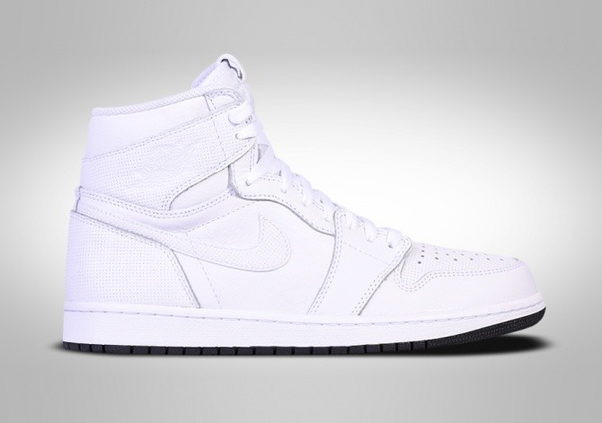 promo code d3e7b 4c9f4 NIKE AIR JORDAN 1 RETRO HIGH OG WHITE PERFORATED PACK