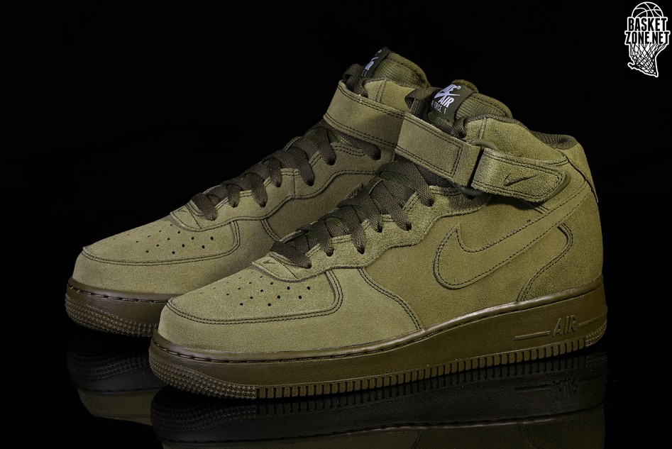 Air Nike Force 1 Green Mid Price '07 Legion v7IfgbyY6