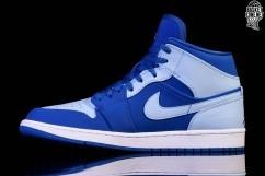 d2673aada18 NIKE AIR JORDAN 1 RETRO MID ICE BLUE price €102.50   Basketzone.net