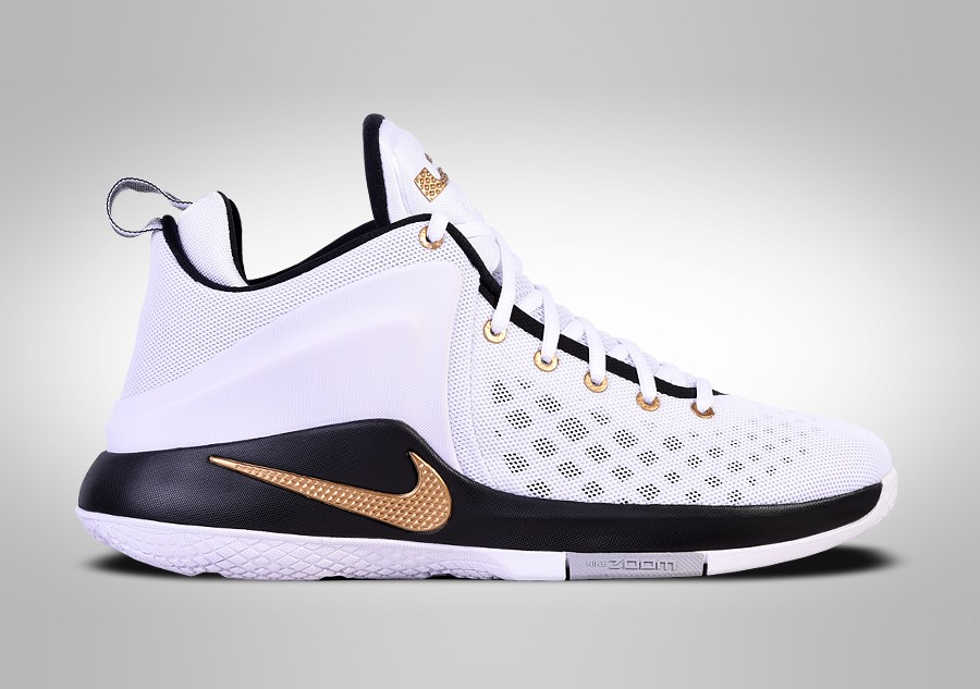 competitive price 9fd59 1c224 NIKE LEBRON ZOOM WITNESS GOLD KING CROWN