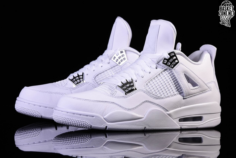NIKE AIR JORDAN 4 RETRO PURE MONEY