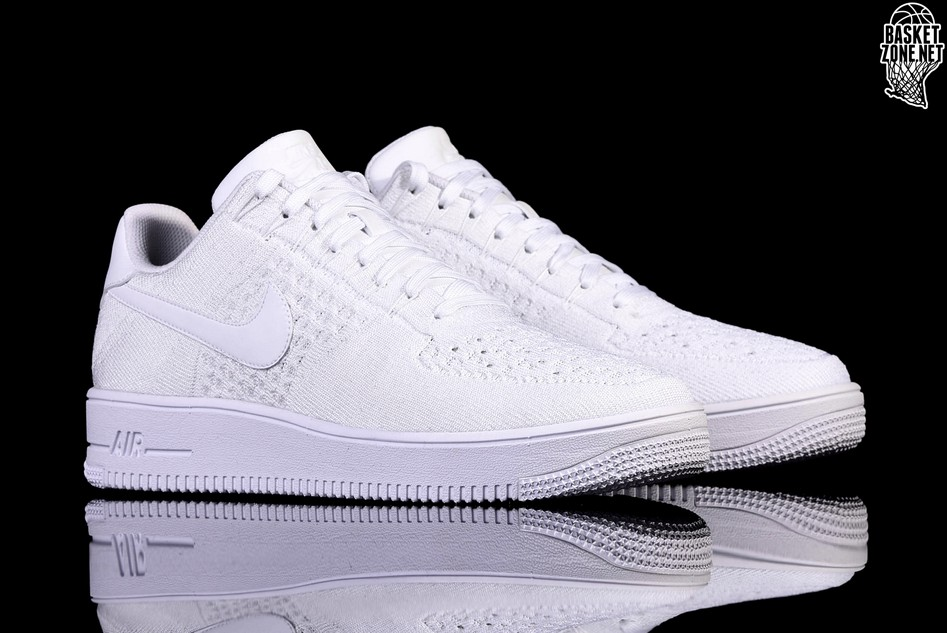 quality design 4c4dd b81d9 NIKE AIR FORCE 1 ULTRA FLYKNIT LOW WHITE