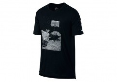 NIKE DRY BASKETBALL MOONSHOT TEE BLACK