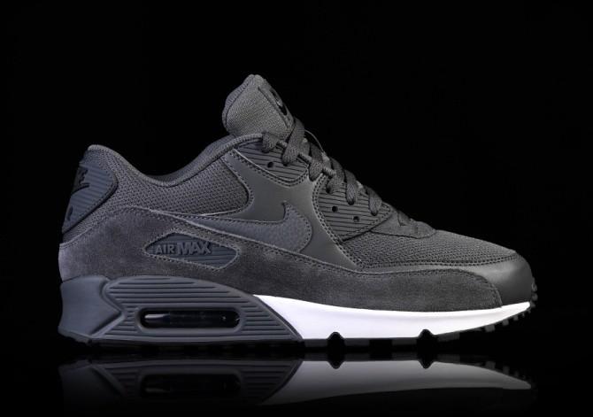 Nike Air Max 2016 Black White Dark Grey