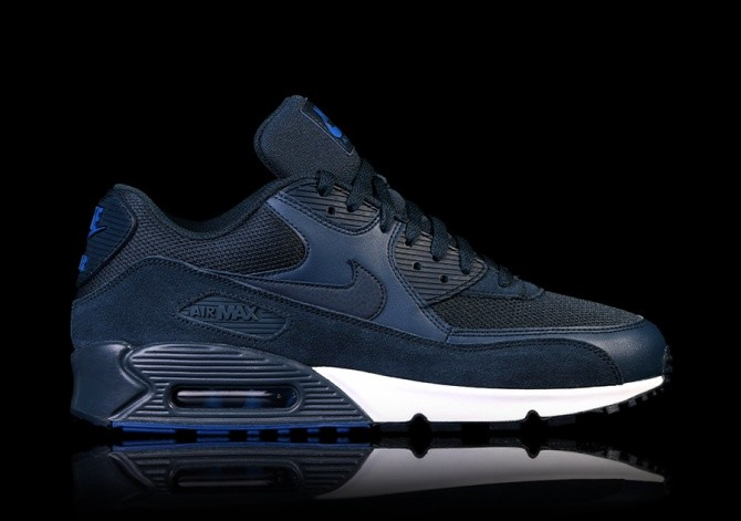 finest selection 9d008 b8790 NIKE AIR MAX 90 ESSENTIAL NAVY BLUE