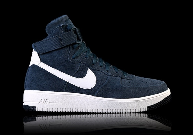the latest 4f4eb fb305 NIKE AIR FORCE 1 ULTRAFORCE HIGH ARMORY NAVY