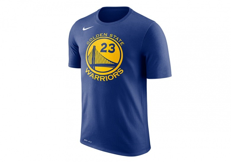 NIKE NBA GOLDEN STATE WARRIORS DRAYMOND GREEN DRY TEE RUSH BLUE