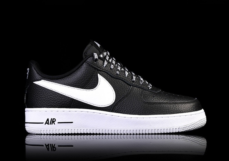 NIKE AIR FORCE 1 '07 LV8 NBA PACK BLACK