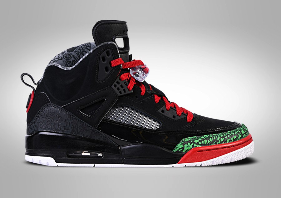 7bd58c23c303 NIKE AIR JORDAN SPIZIKE BLACK RED POISON GREEN price €145.00 ...