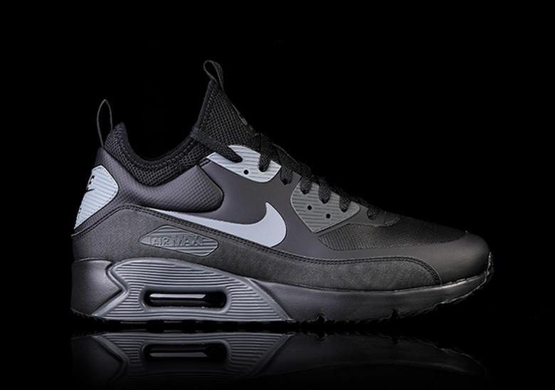 best website 6a41d 78dcc NIKE AIR MAX 90 ULTRA MID WINTER BLACK