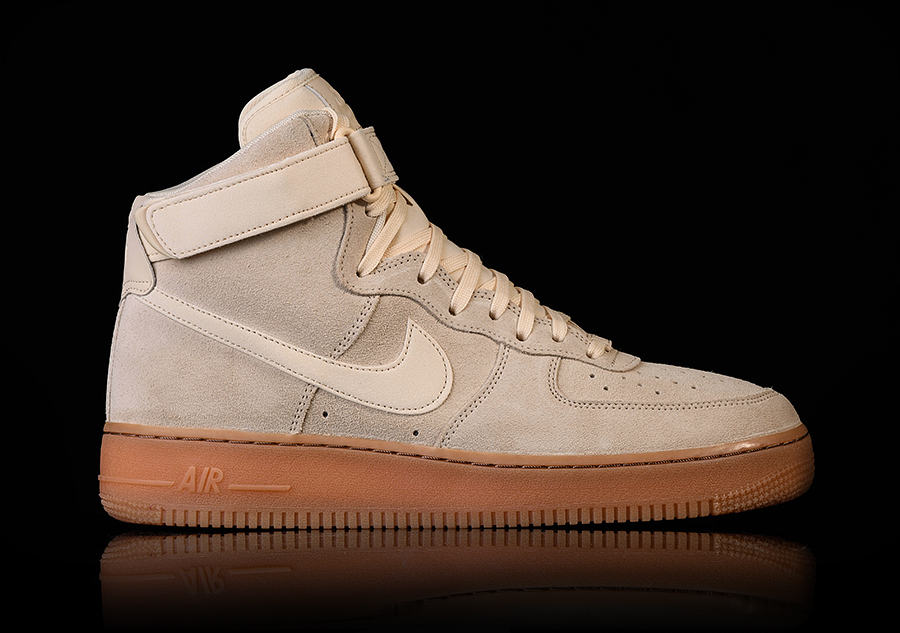 new concept db6bb d7c57 NIKE AIR FORCE 1 HIGH  07 LV8 SUEDE MUSLIN