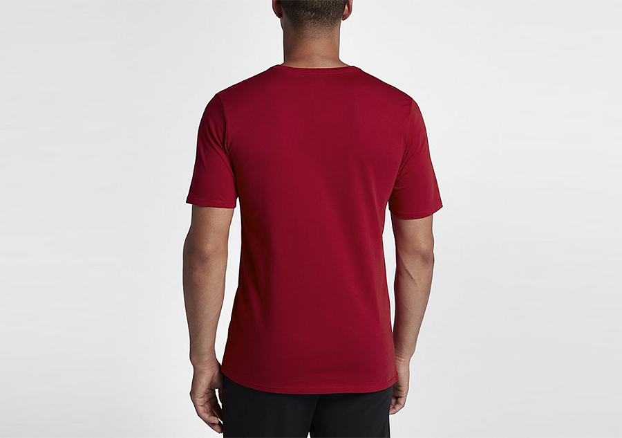 7e353994da6e42 NIKE AIR JORDAN SPORTSWEAR BRAND 6 TEE GYM RED price €27.50 ...