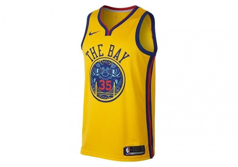 96eebb7a7cd NIKE NBA KEVIN DURANT GOLDEN STATE WARRIORS CITY EDITION SWINGMAN JERSEY  AMARILLO