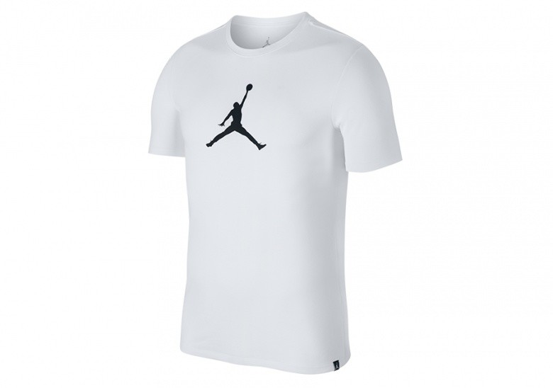 NIKE AIR JORDAN DRY TEE 23/7 JUMPMAN BASKETBALL TEE WHITE