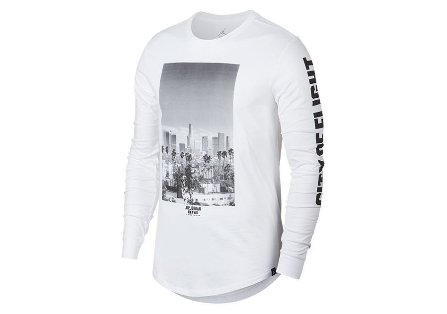 NIKE AIR JORDAN SPORTSWEAR CITY OF FLIGHT PHOTO LONG SLEEVE