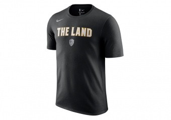 NIKE NBA CLEVELAND CAVALIERS CITY EDITION DRY TEE BLACK