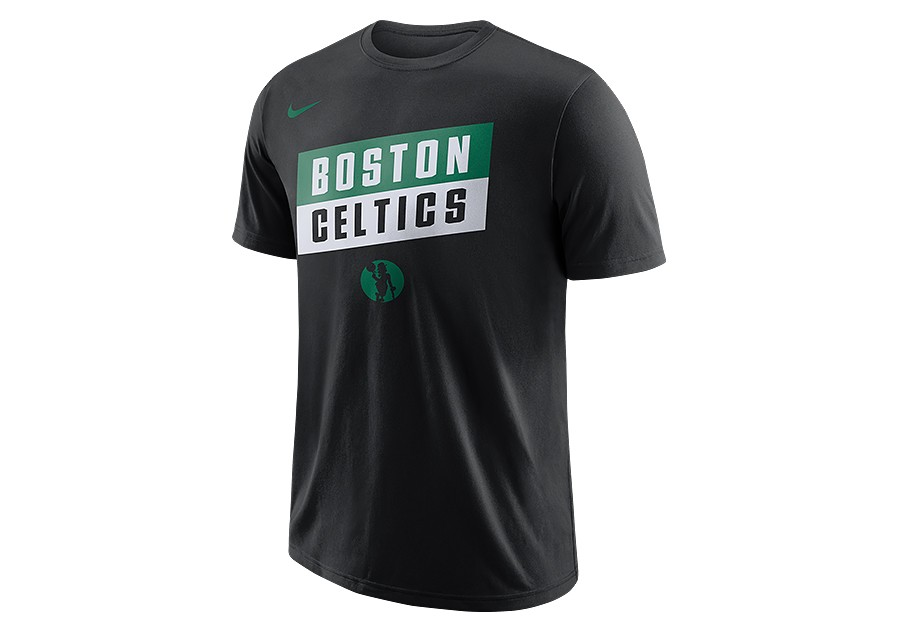 detailed look 82ed3 39638 NIKE NBA BOSTON CELTICS DRY TEE BLACK per €27,50 ...