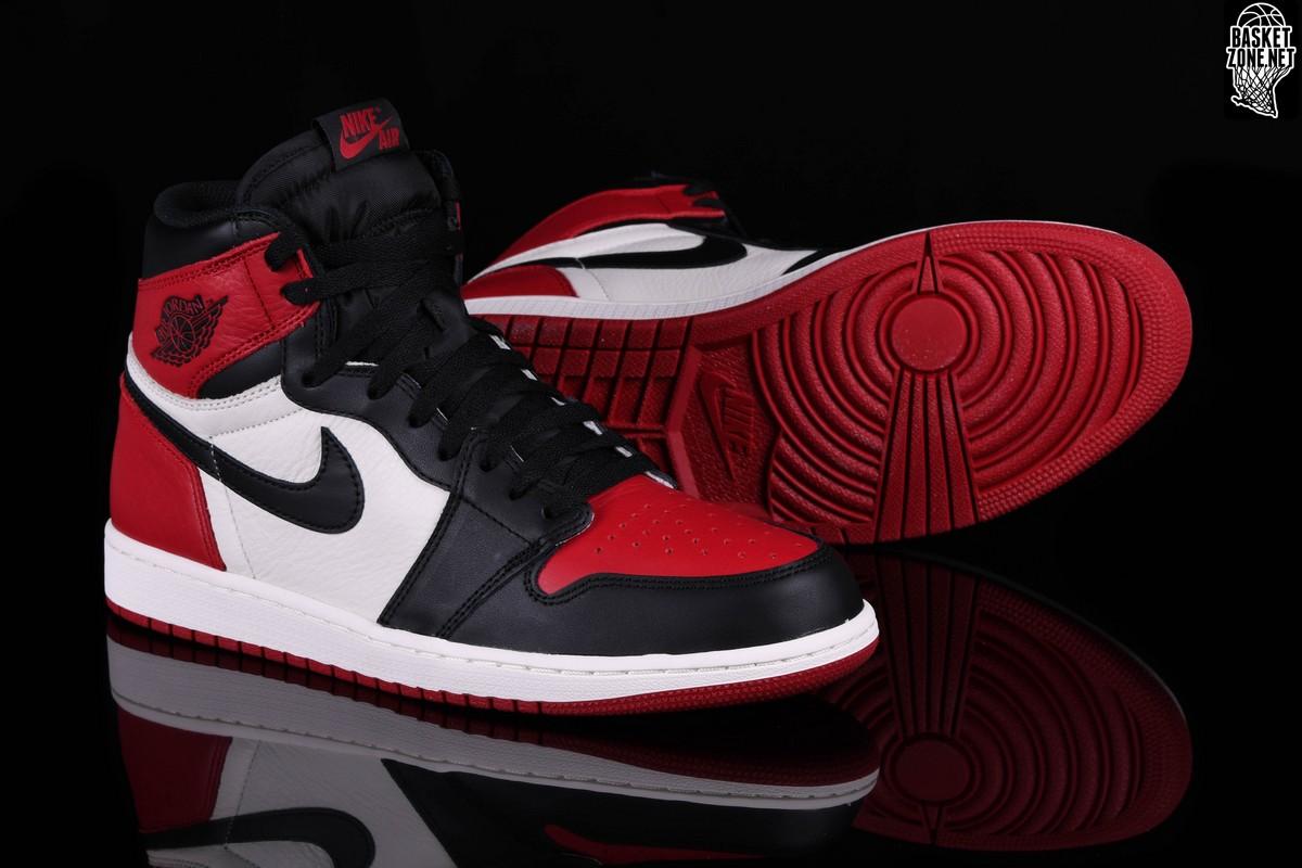 new style b2df7 a1c31 ... rosso  nike air jordan 1 retro high og bred toe bg