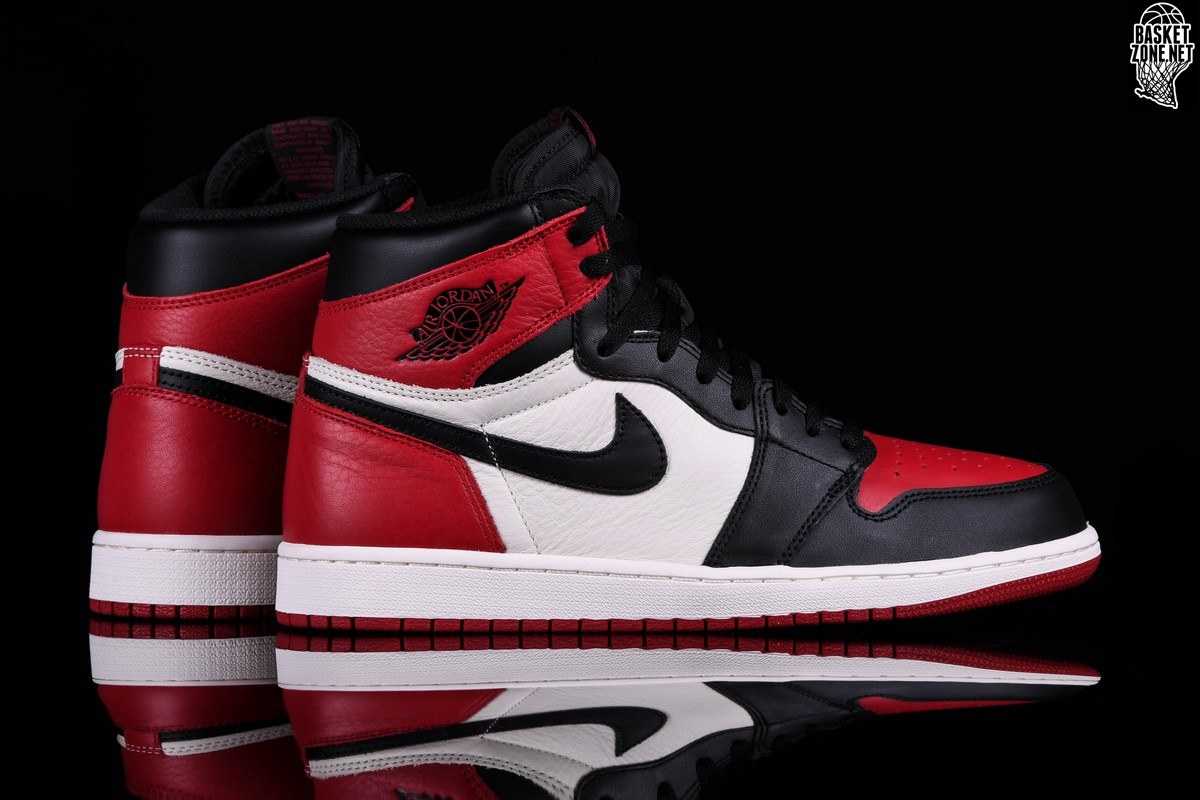 NIKE AIR JORDAN 1 RETRO HIGH OG BRED TOE BG price €185.00 ... 2d379d043