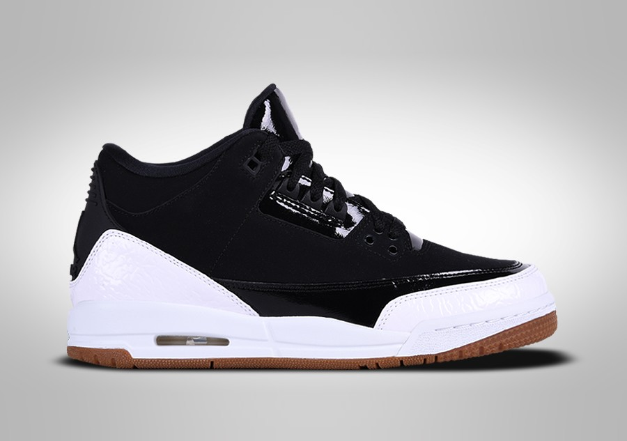 a6d731ecb2 NIKE AIR JORDAN 3 RETRO BLACK WHITE GUM GG per €117,50 | Basketzone.net