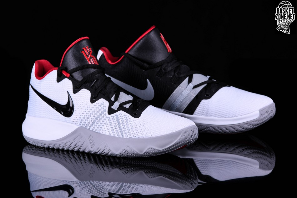 f9298b40c255 NIKE KYRIE FLYTRAP WHITE BLACK UNIVERSITY RED price  92.50 ...