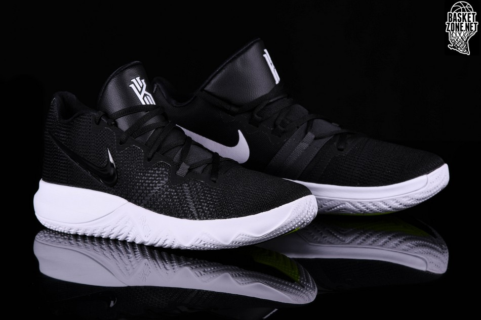 check out fc4a4 e870a NIKE KYRIE FLYTRAP BLACK WHITE VOLT