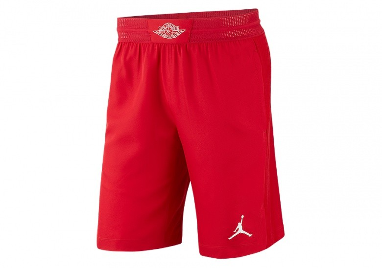 ceaca00c1b6f1c NIKE AIR JORDAN ULTIMATE FLIGHT BASKETBALL SHORTS GYM RED price ...