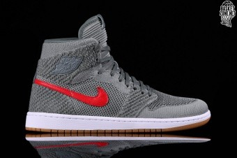 a7849feaf47 NIKE AIR JORDAN 1 RETRO HI FLYKNIT BG (SMALLER SIZE) CLAY GREEN ...