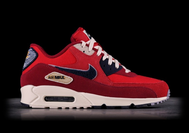 release date: a0a7f 0bc15 NIKE AIR MAX 90 PREMIUM SE UNIVERSITY RED