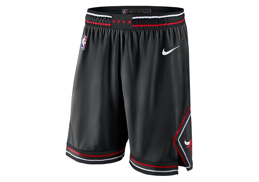 b48af3e79772 NIKE NBA CHICAGO BULLS STATEMENT EDITION SWINGMAN SHORTS BLACK price €62.50