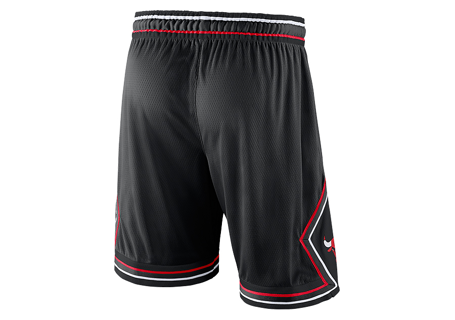 dd8965d4eff3 NIKE NBA CHICAGO BULLS STATEMENT EDITION SWINGMAN SHORTS BLACK price ...