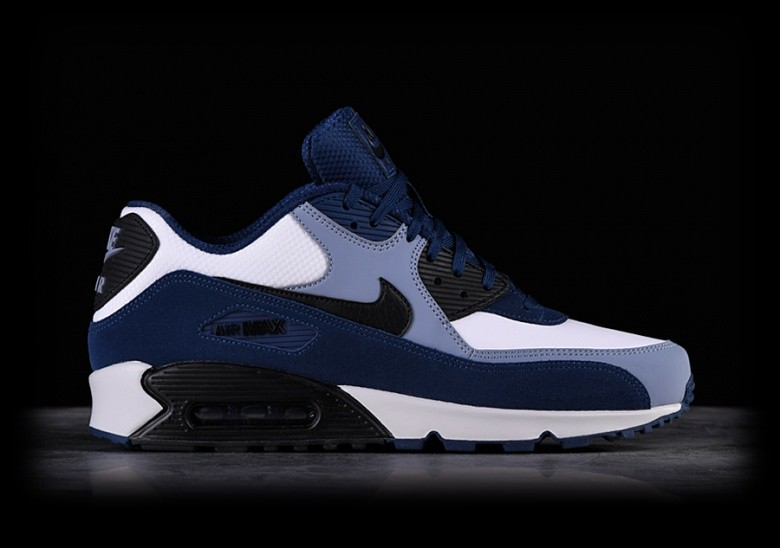 NIKE AIR MAX 90 LEATHER BLUE VOID
