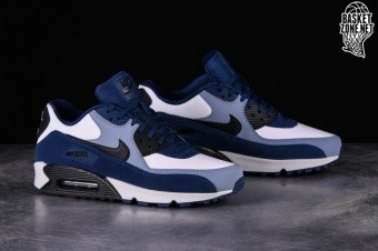 watch 92e90 aa01b NIKE AIR MAX 90 LEATHER BLUE VOID