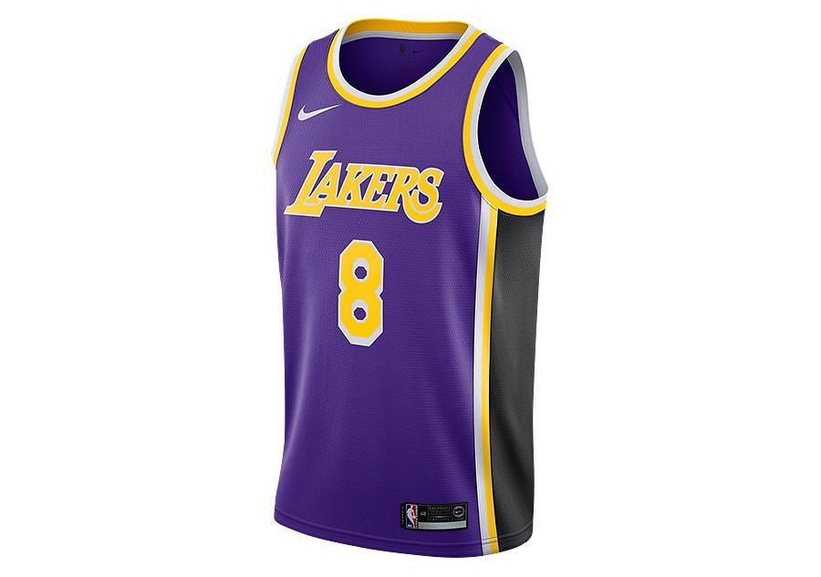 NIKE NBA LOS ANGELES LAKERS KOBE BRYANT SWINGMAN JERSEY FIELD PURPLE price  €92.50  ea30fd961