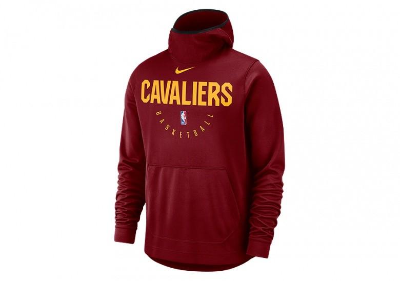 NIKE NBA CLEVELAND CAVALIERS SPOTLIGHT HOODIE TEAM RED
