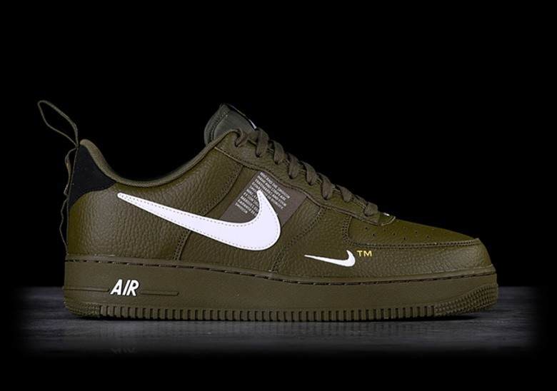 timeless design 7216d db3a5 NIKE AIR FORCE 1  07 LV8 UTILITY OLIVE CANVAS
