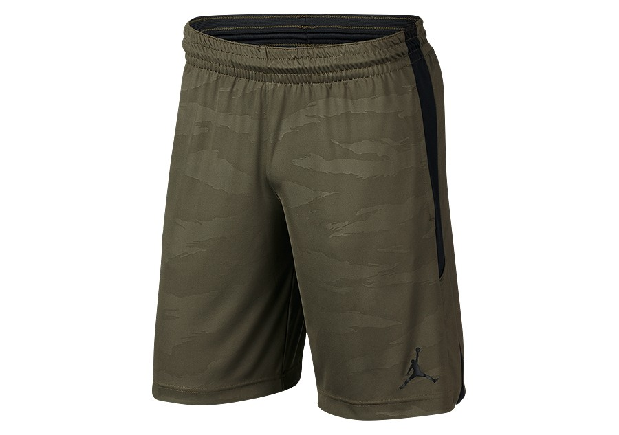 8e8cf95280c NIKE AIR JORDAN 23 ALPHA DRY KNIT PRINT SHORTS OLIVE CANVAS price €32.50 |  Basketzone.net