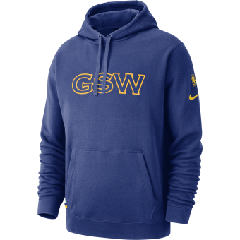 NIKE NBA GOLDEN STATE WARRIORS COURTSIDE HOODIE