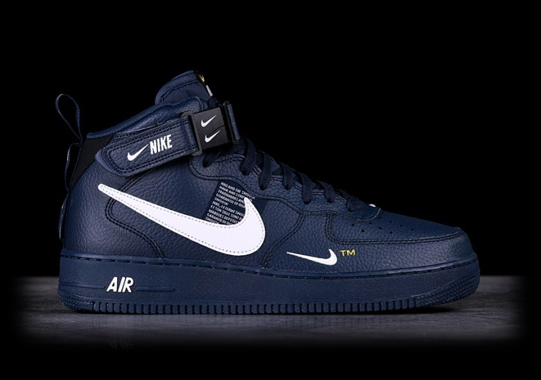 NIKE AIR FORCE 1 MID '07 LV8 OBSIDIAN price €117.50 ...