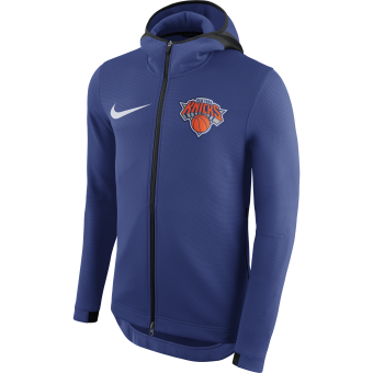 NIKE NBA NEW YORK KNICKS THERMAFLEX SHOWTIME HOODIE