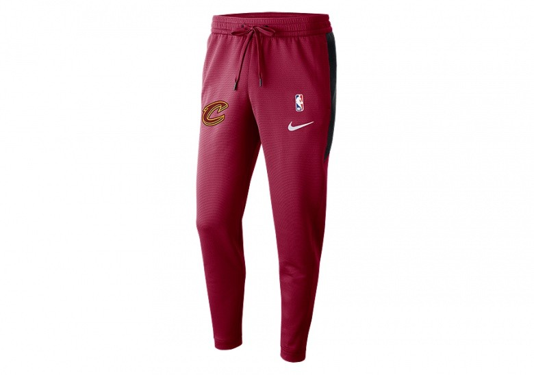 NIKE NBA CLEVELAND CAVALIERS THERMAFLEX SHOWTIME PANTS TEAM RED