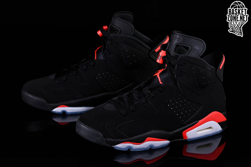 47b1d4c64474e2 NIKE AIR JORDAN 6 RETRO BLACK INFRARED price €232.50