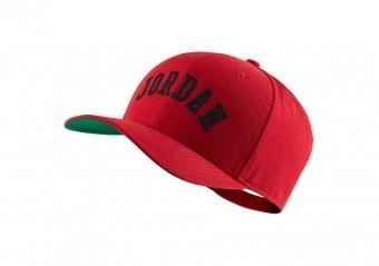 NIKE AIR JORDAN CLASSIC99 JUMPMAN AIR HAT GYM RED