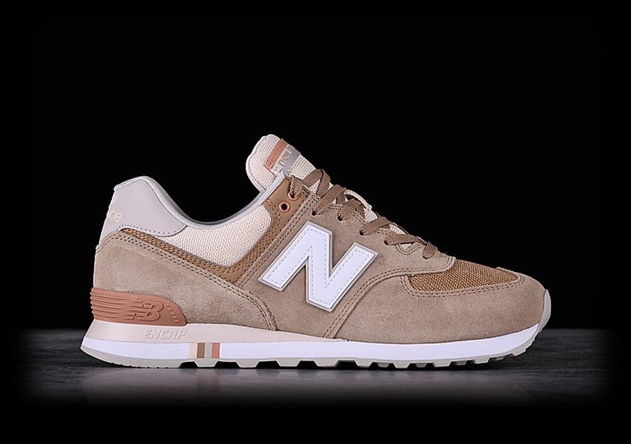 new balance 574 brun