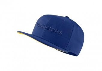 NIKE NBA GOLDEN STATE WARRIORS AEROBILL PRO CAP RUSH BLUE