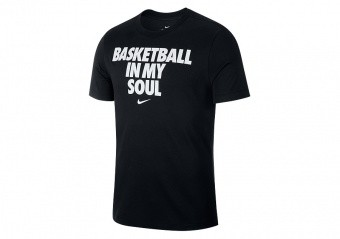 NIKE 'BASKETBALL IN MY SOUL' DRY TEE BLACK